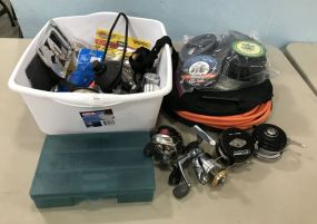 Group of Fishing Accessories