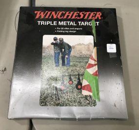 Winchester Triple Metal Target