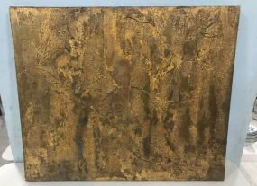 Abstract Painting of Canvas by Virginia  Weathersby
