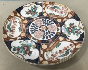 Hand Painted Gold Imari Charger