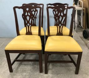 Medallion Collection by Pennsylvania House Chippendale Style Side Chairs.
