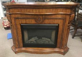 Twin Star Fireplace Model 33E01