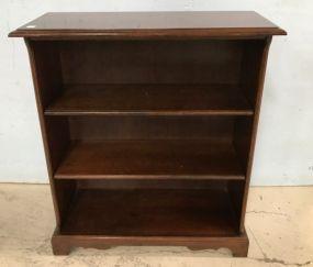 Cherry Two Shelf Bookcase