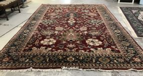Large Hand Woven Area Rug