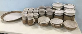 Set of Meredith Pottery