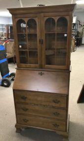 Early American Style Secretary Bookcase