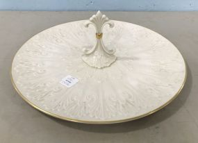 Center Handled Serving Tray Chateau Collection by Lenox