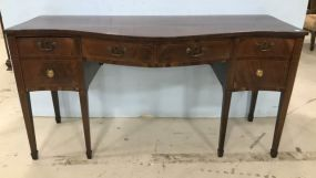 Antique Hepplewhite Burl Buffet