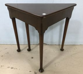 Antique Queen Anne Handkerchief Table
