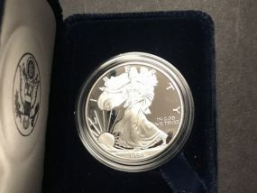 1998 Silver American Eagle One Dollar Coin