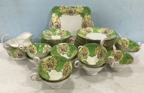 Hand Painted Porcelain China Set