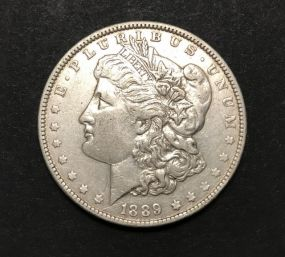 1889 Morgan Dollar Coin