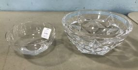 Pair of Tiffany & Co Crystal Bowls