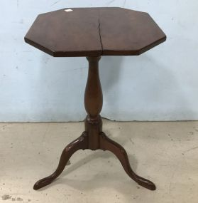 Antique Walnut English Pedestal Table