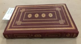 Franklin Library Oresteia Aeschylus Book