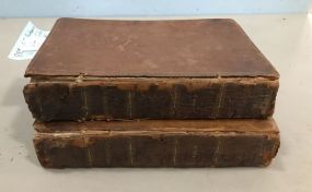 Leather Bound Shakespeare 2 Volumes