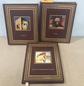 Easton Press Gold Bound Art Books