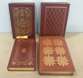 Four Gold Bound Books