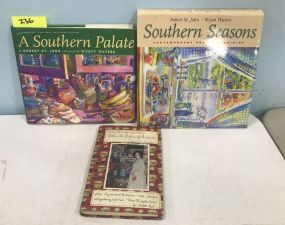 Southern Seasons and Southern Palate Illustrated by Wyatt Waters and Country Decorating Using Antiques