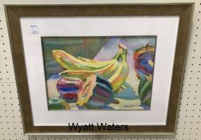 Wyatt Waters Still Life Watercolor
