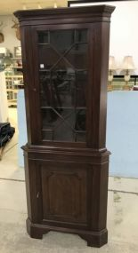 Virginia Galleries Henkel Harris Corner Cabinet