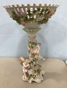 1930's Dresden Porcelain Center Piece