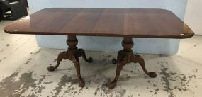 Early American Style Henredon Cherry Dining Table
