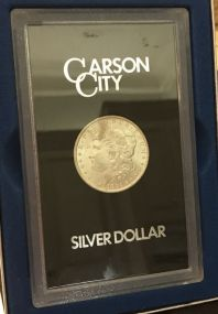 1882 Carson City Morgan Silver Dollar CC