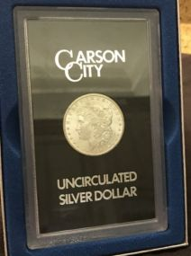 1884 Carson City Morgan Silver Dollar CC