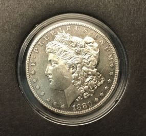1880 Morgan Silver Dollar S