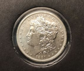 1881 Morgan Silver Dollar O