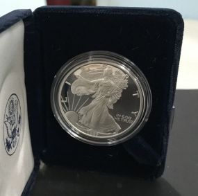1997 Silver American Eagle One Dollar Coin