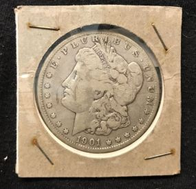 1901 Morgan Silver Dollar O