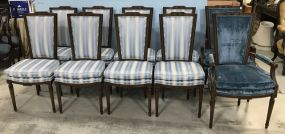 Ten Louis XVI Style Dining Chairs