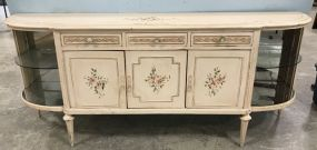 Large French Shabby Chic Style Buffet