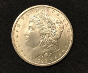1899 Morgan Silver Dollar O