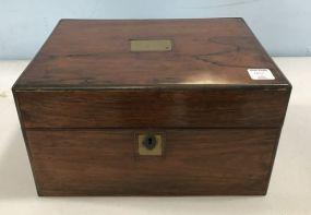 Rosewood 19th Century Gents Travel Box