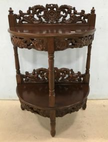 Indo Antique Reproduction Wall Console Table