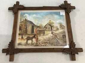 Lady Mary Taylor Folk Art Painting