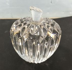 Waterford Crystal Strawberry Paperweight 3