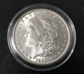 1888 Silver Morgan Dollar