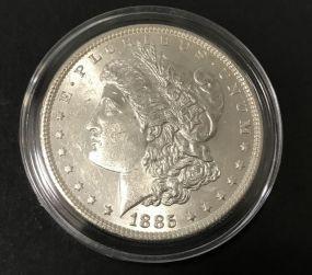 1885 Silver Morgan Dollar