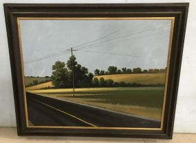Roland Golden Painting of Landscape and Study