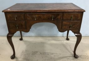 Antique English Queen Anne Console Table