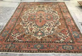 Persian Hand Woven Wool 11'6 x 14' Area Rug