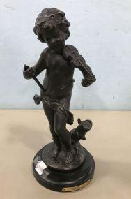 Amour Petit Bronze by Auguste Moreau
