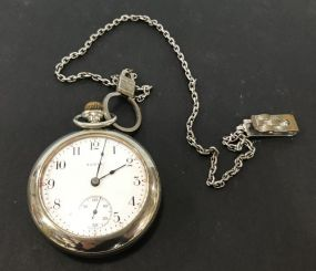 Elgin Natl Watch Co. Open Face Pocket Watch