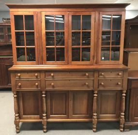 Cassady Furniture Company Cherry Reproduction China Cabinet