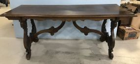 Antique Country French Dining Table