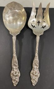 Two Sterling Serving Peices